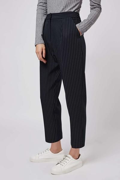 Classic Striped Trousers