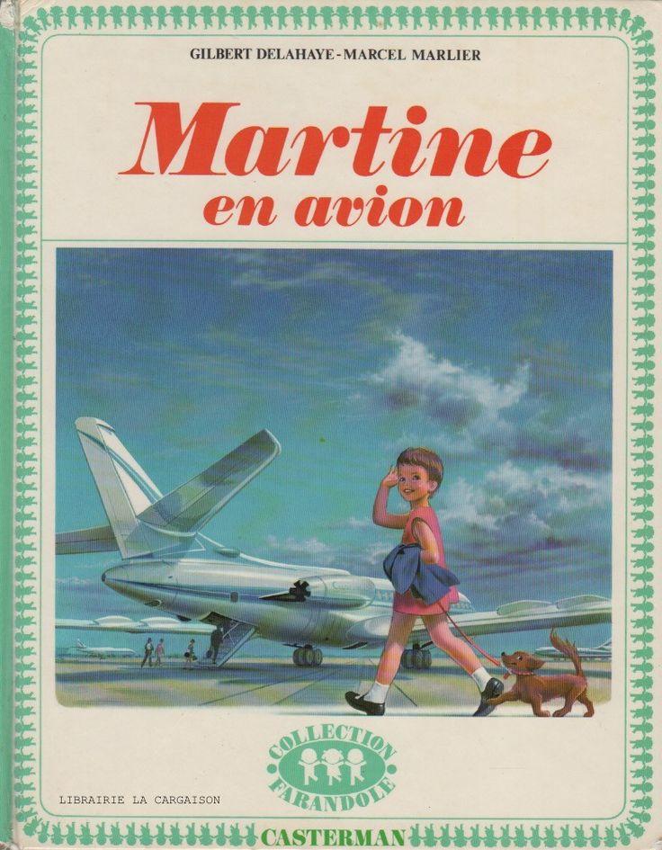 Martine en avion | Enfance, Belles images, Souvenir