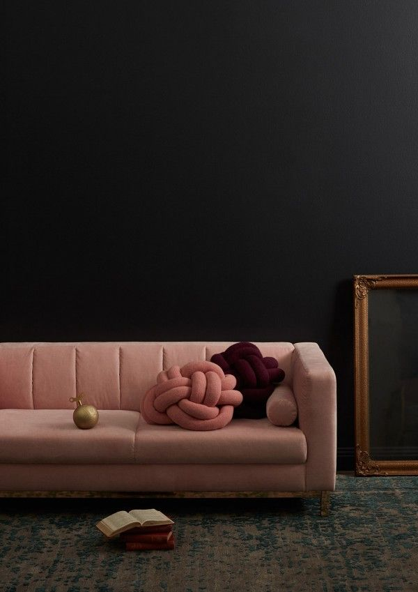 Incy Interiors Sybilla soft pink velvet kids sofa