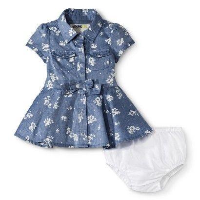 Genuine Kids from OshKosh ™ Newborn Girls' Dress - Blue