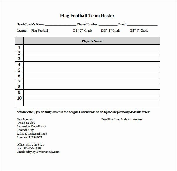 Youth Football Practice Schedule Template Awesome 28 Of Youth