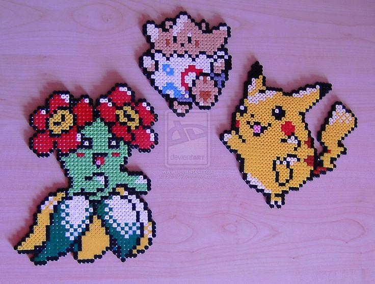 Pokemon sprite bead 8 by Chiki012 on deviantART