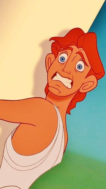 hercules :) Ok am I the only one who thought he was SO much cuter when he was scrawny looking??