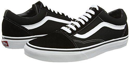 Vans Old Skool, Unisex-Erwachsene Sneakers, Schwarz: Vans: Amazon.de: Schuhe & Handtaschen