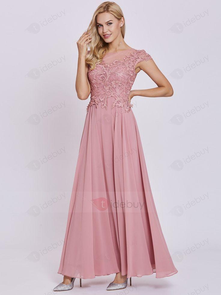 Tull Langarm Langes Abendkleid Mit Blattapplikation 9 Rabatt Fur Kleider Abendkleider Abendkleid Abendkleider Vestidos Vestido Madrinha Modelos