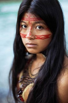 The-Atlas-of-Beauty-Mihaela-Noroc-9   Kichwa woman from Equatorian Amazon jungle