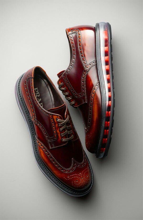 PRADA Levitate Wingtips - Epic shoes from Prada. Wingtip sneakers make the  Cole…