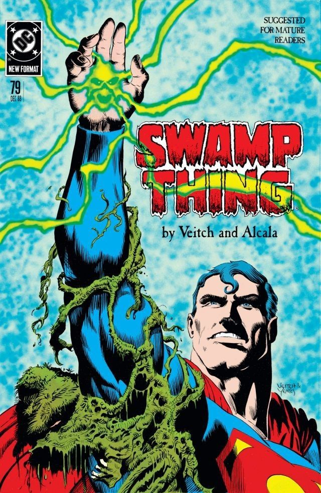Swamp Thing (1982-1996) #79 Swamp Thing's out to finally avenge his own murder... and he intends to take out his revenge on Lex Luthor.