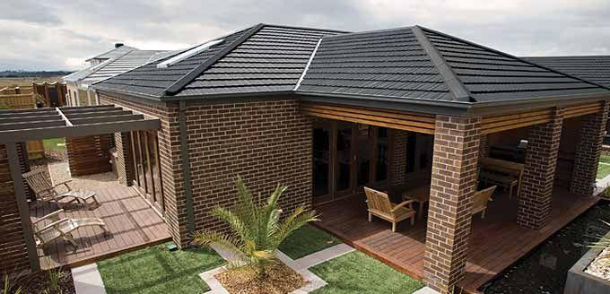 Homestead Concrete Roof Tile #roofcolours