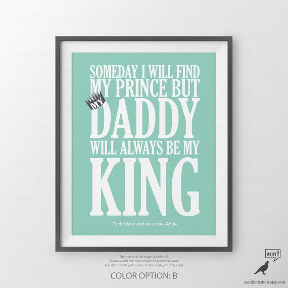 Father Personalized Gift for Dad Birthday Gift For by WordBirdShop