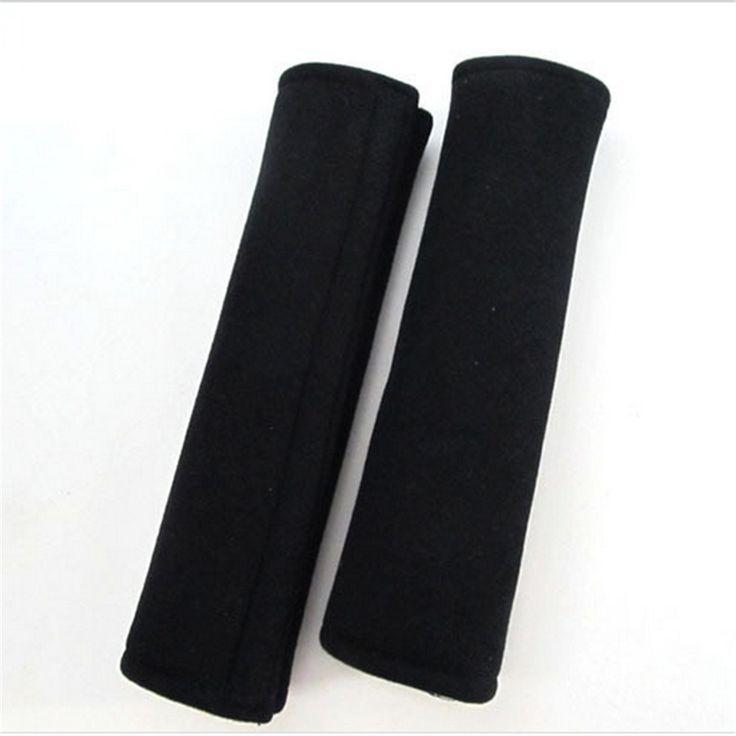2 Stks/paar Autostoeltje Belt Schoudervullingen Cover Kussen Harness Comfortabele Pad Hoge Kwaliteit Goedkoop Black Veiligheidsgordels