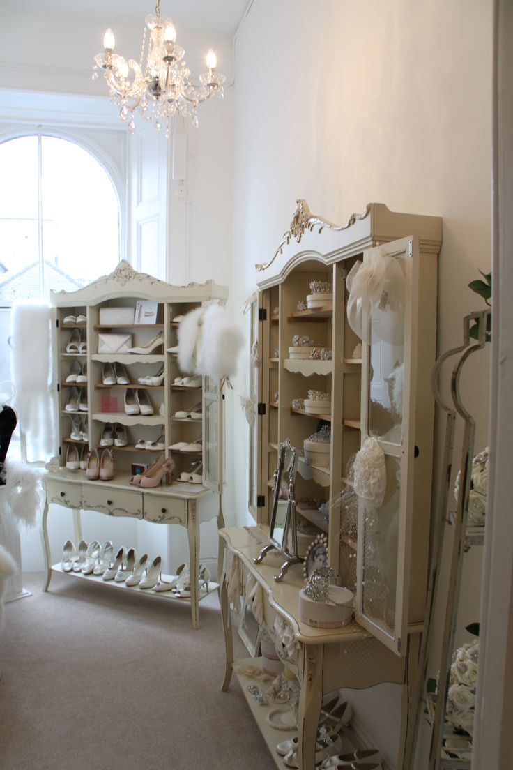 And for our beautiful range of bridal accessories a beautiful room!