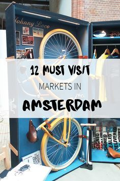 """Which markets to visit while you are in Amsterdam? Read the list with must visit ones on travel blog http://www.yourlittleblackbook.me. Planning a trip to Amsterdam? Check http://www.yourlittleblackbook.me/ & download """"The Amsterdam City Guide app"""" for Android & iOs with over 550 hotspots: https://itunes.apple.com/us/app/amsterdam-cityguide-yourlbb/id1066913884?mt=8 or https://play.google.com/store/apps/details?id=com.app.r3914JB"""
