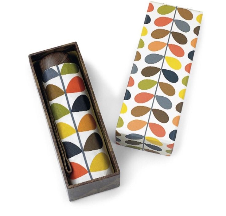 Orla Kiely gift boxed umbrellas available at the nest.