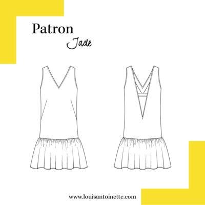 Louis Antoinette - robe Jade - patron pochette : 14,90€