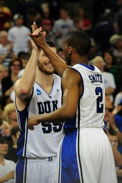 Brian Zoubek and Nolan Smith