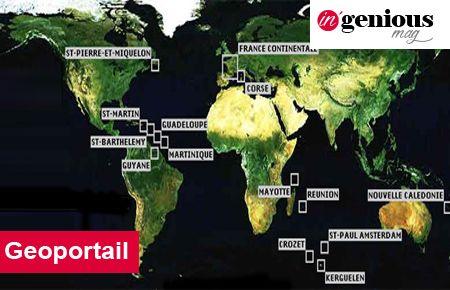 geoportail monde