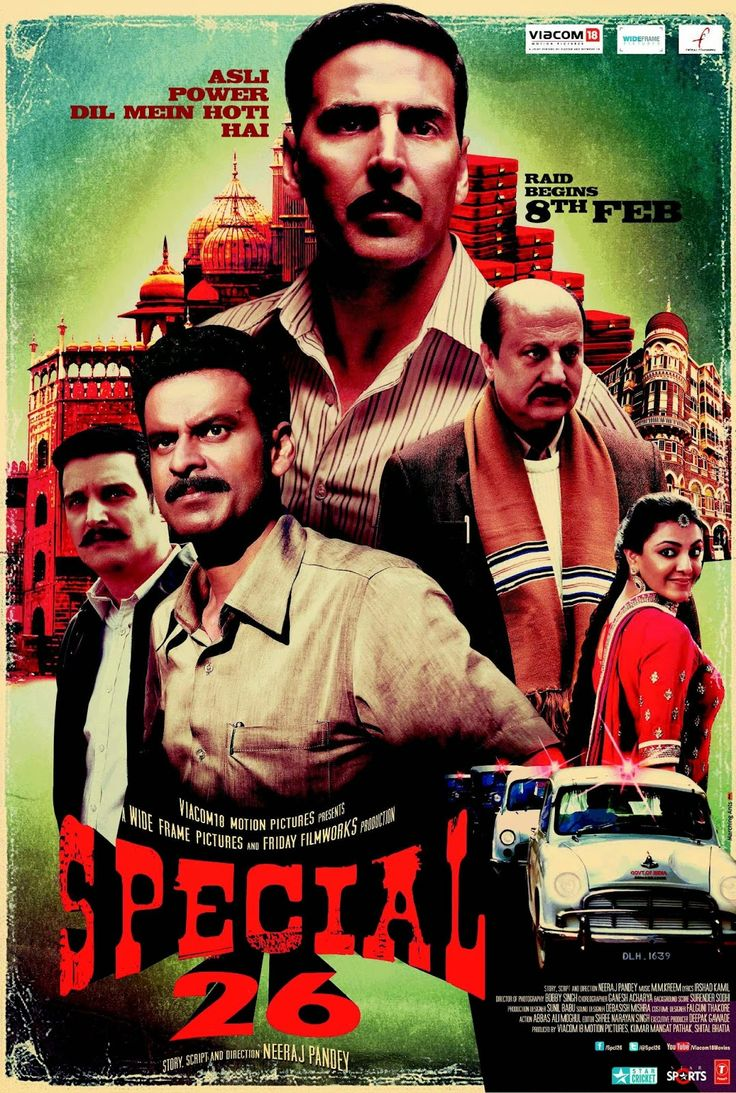 Watch Special 26 Online Free Putlocker: Based on a real life group of con artists who pulled off many clever robberies during 1980s, and robbed famous businessmen and politicians by pretending to be the CBI or Income tax officers and conducting raids, on the pretext of conducting raids they would take away all the black money hoarded by them.