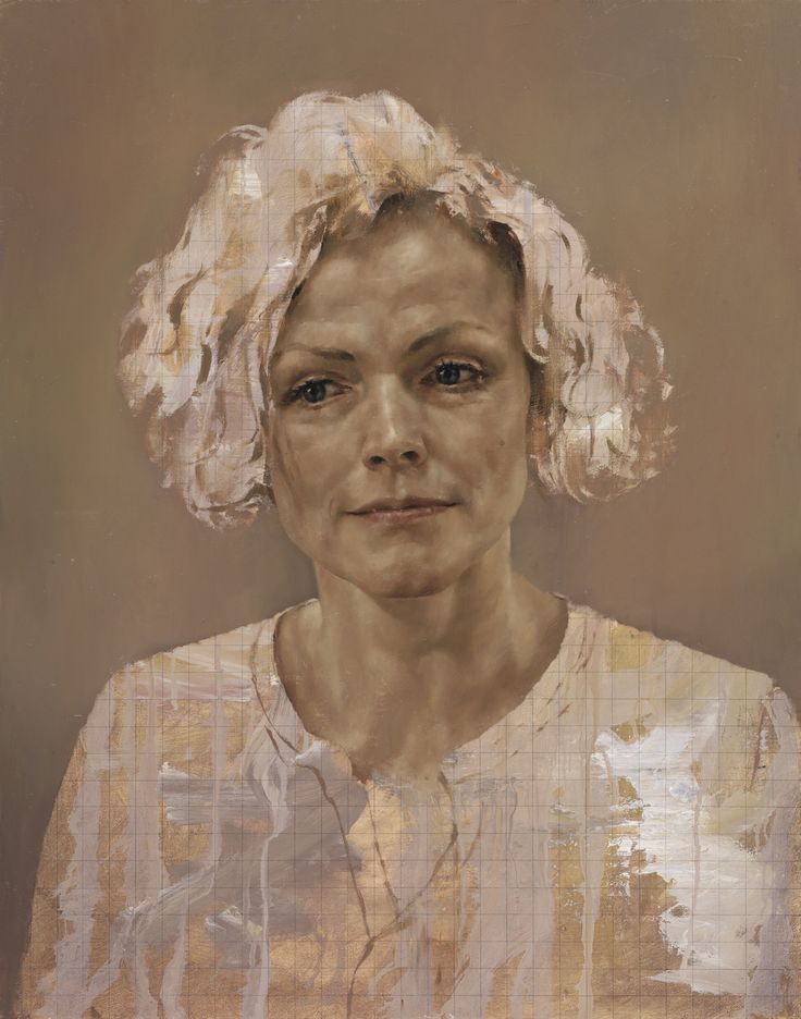 Jonathan Yeo (b 1970, Lodon) - Maxine Peake (Peake is an English stage, film, and television actress)