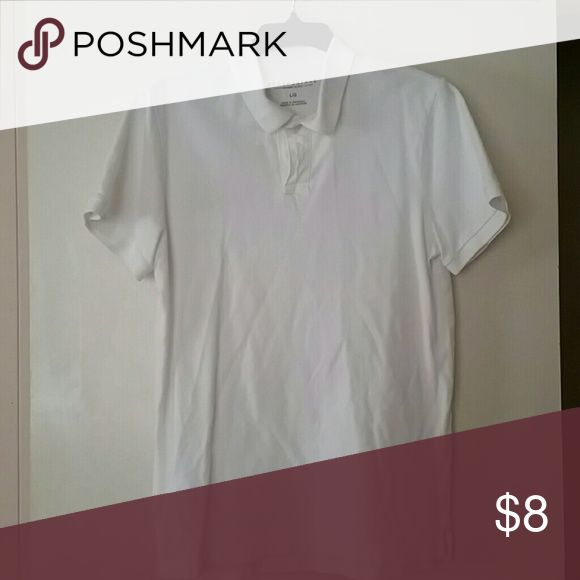 Aeropostale white plain Polo Shirt We used this as a uniform shirt for school. Shirts Polos