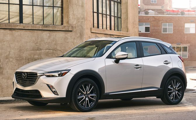 2018 Mazda CX-3 Adds New Standard Features Increases Price by $190 :  The 2018 Mazda CX-3 is on sale now in select regions and will be on sale nationwide in September.  The 2018 Mazda CX-3 Sport will start from $21050 including destination an increase over last years $20860 starting price. Newly standard for all trim levels is Smart City Brake Support which can automatically applythe brakes in emergency situations below 19 mph. The crossover also features the Japanese automakers G-Vectoring…