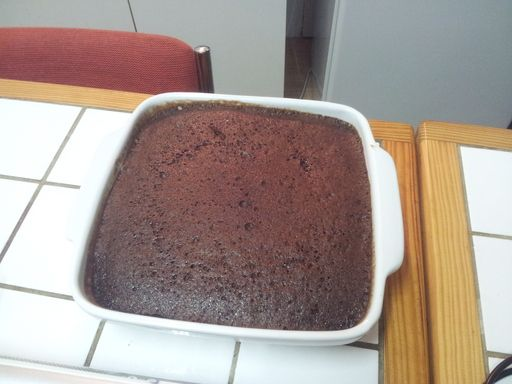 Gateau au chocolat micro onde 6 minutes