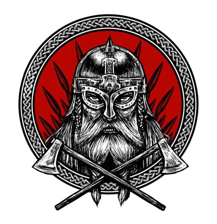жизни картинки с символикой викингов самодельной