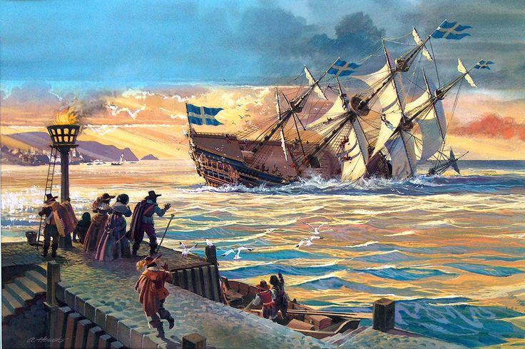 Después de este tramo de la historia, se hizo un recorrido por diferentes obras que se podrían haber interpretado a bordo del Kronan en diferentes partes