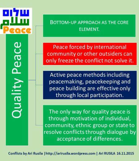 quality peace by Ari Rusila