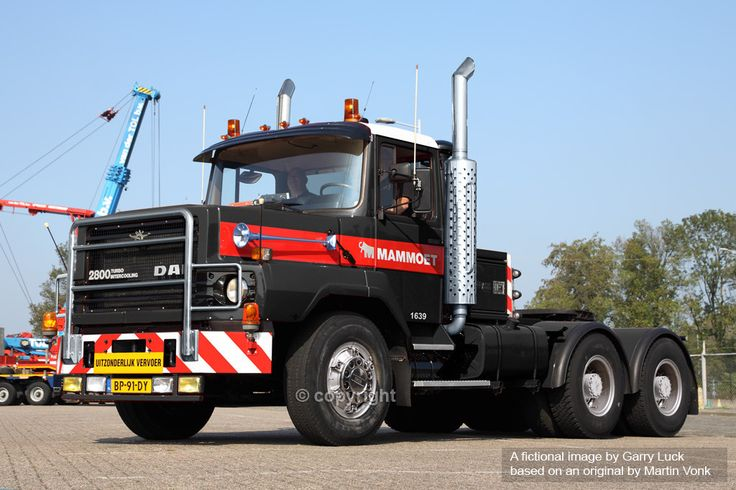 Mammoet BV, Netherlands: DAF NT 2800 Tractor Unit (fiction) by northernblue109