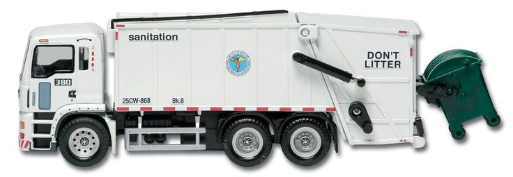 Officially Licensed New York City Sanitation Garbage Truck. #toys #trucks #cars #collectible