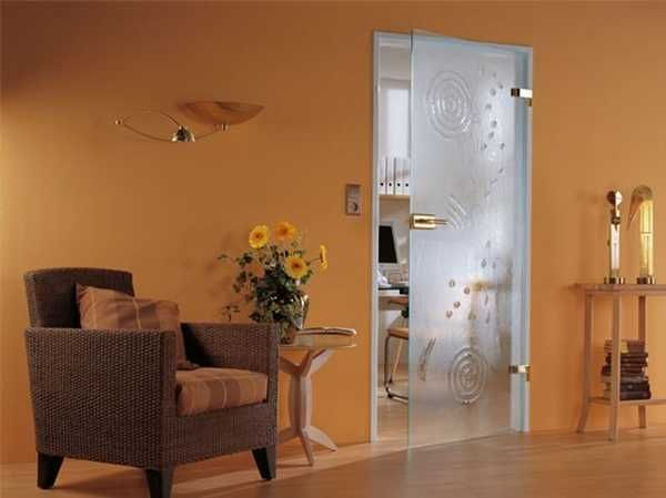 fantastic solid glass doors and room dividers inviting natural light into modern interior design - Interior Doors With Glass