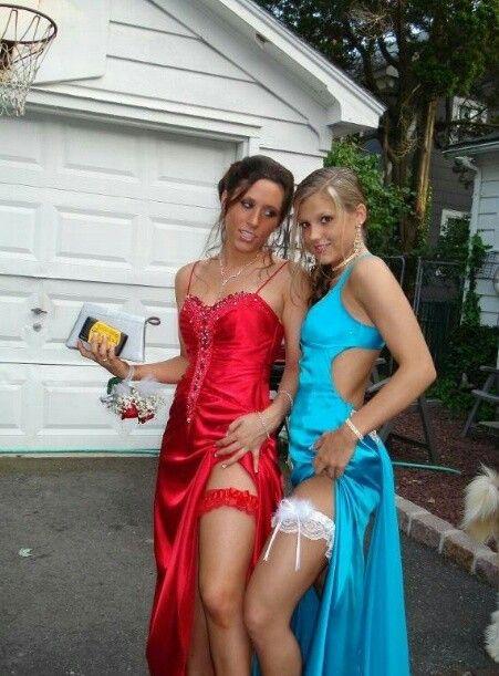 Lesbian prom porn