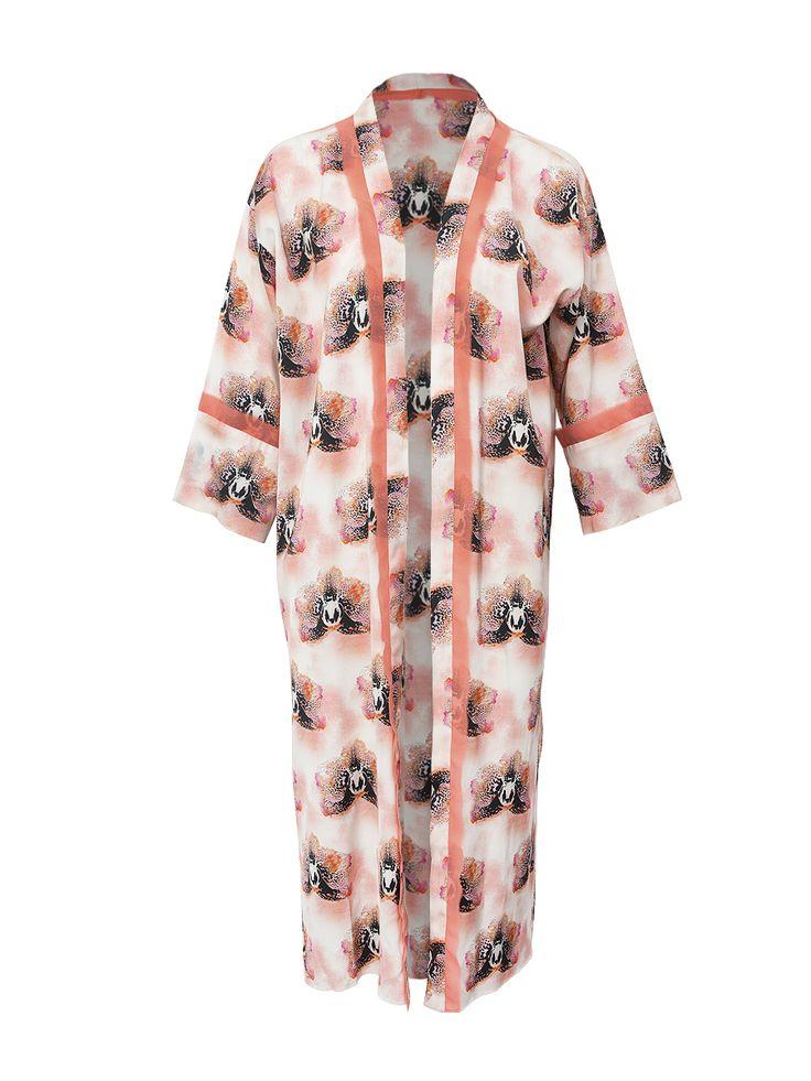 Pink Orchid Kimono