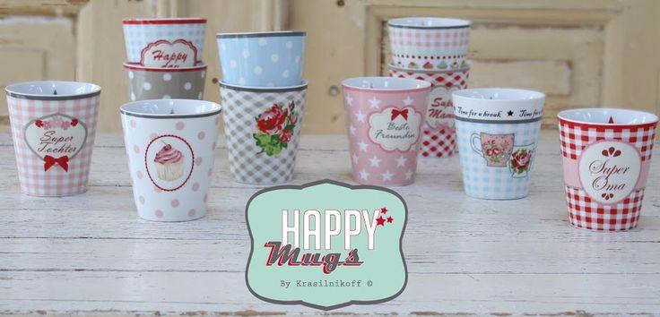 Krasilnikoff Happy Mugs