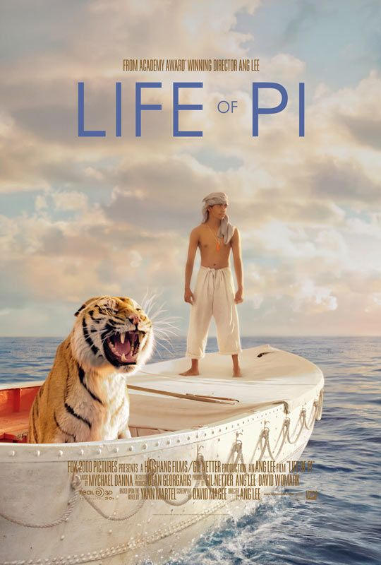 Life of Pi. I loved the book first though.
