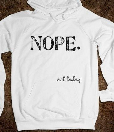 I want this sweatshirt.