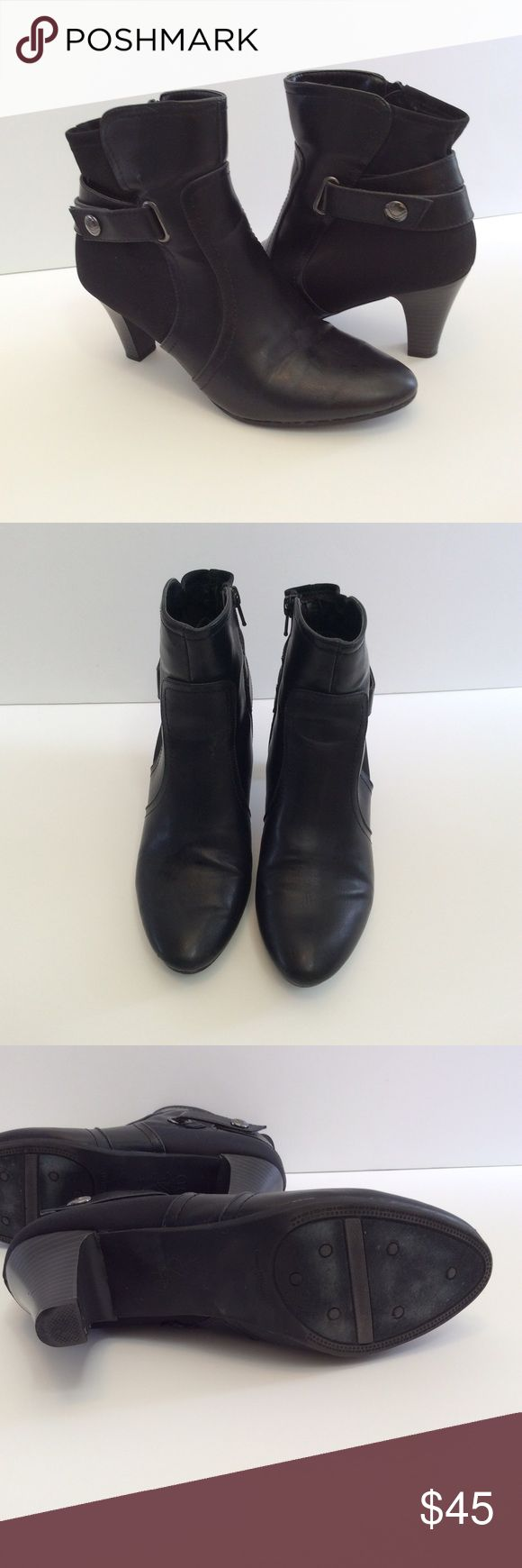Life Stride Heeled Ankle Booties Cute and comfy heeled ankle booties by Life Stride. Size 8.5 Life Stride Shoes Ankle Boots & Booties