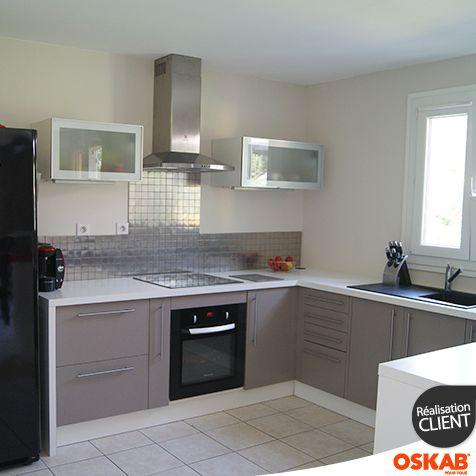 Les Meilleures Images Du Tableau Cuisine équipée Ouverte Oskab - Accessoire meuble cuisine pour idees de deco de cuisine
