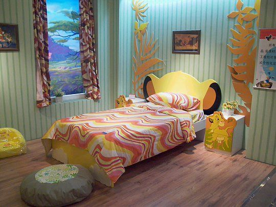 The Lion King Simba Room #Disney #kids    oh this is to cute..... making me rethink my pooh bear idea lol
