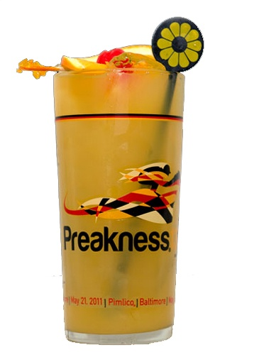 Black-Eyed Susan Cocktail recipe- Drink of the Preakness Stakes | Come see the entire collection of Horse Racing Invitations at Announcingit.com