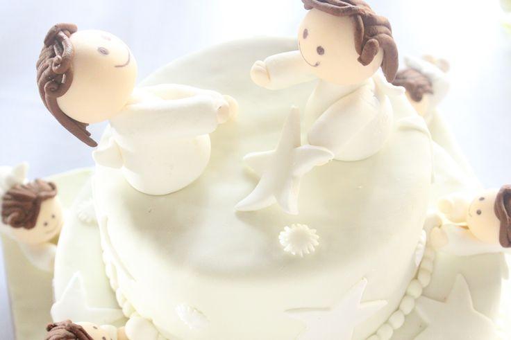 pastel de los angeles.