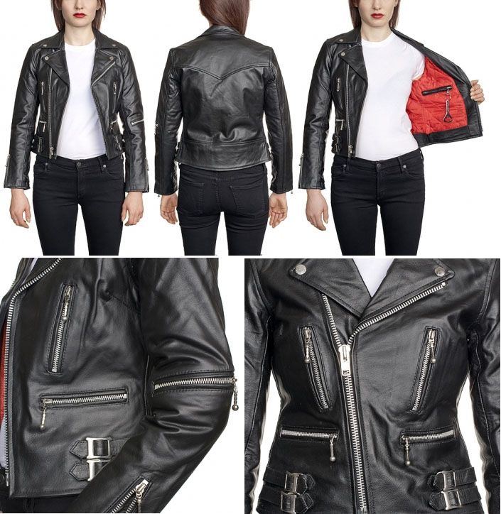 Punk Leather Jacket