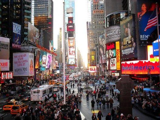 Times Square, Nueva York, EE.UU