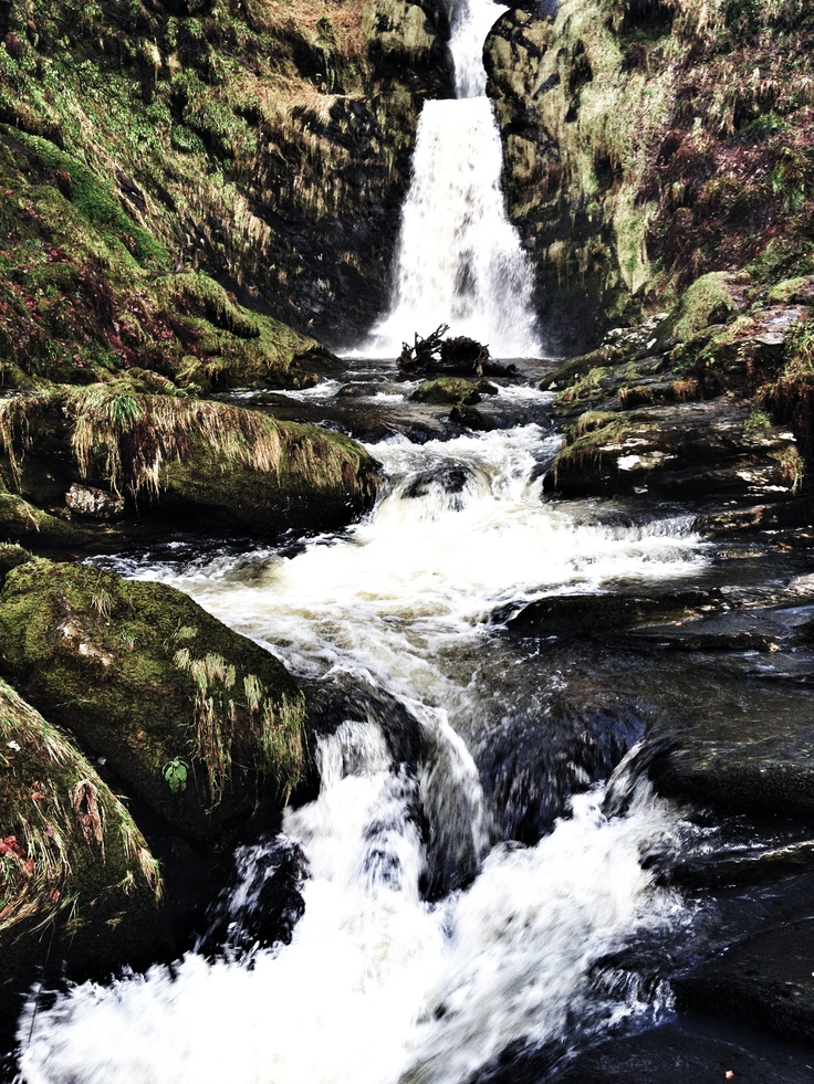 Highest waterfall in England and Wales, Llanrhaeadr