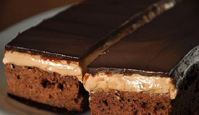 Bámulatos csokoládészelet – a tésztája, a krém és a bevonat is nagyon csokis!