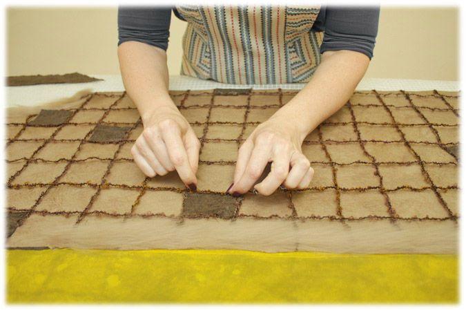 Валяем осенний жилет в классическом стиле - Ярмарка Мастеров - ручная работа, handmade