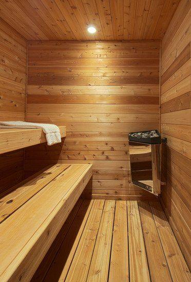 Folded Sauna | Beautiful Homes Design
