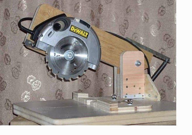 Ah! E se falando em madeira...: transforme: serra circular em meia esquadria