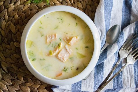 S vášní pro jídlo: Lohikeitto - finská lososová polévka